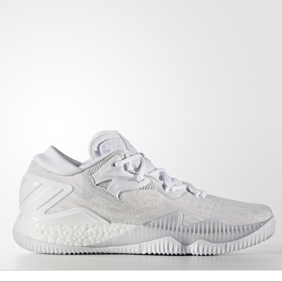 75d40e7a417b adidas Other - Crazylight Boost Low basketball shoes triple white